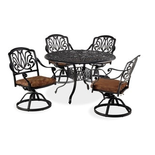 Contemporary Floral Blossom Five-Piece Dining Set by Home Styles