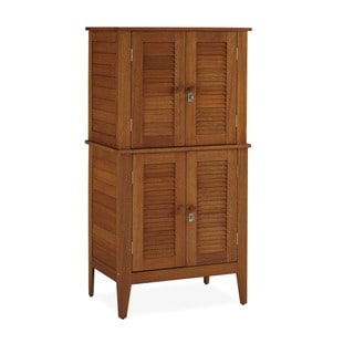 Montego Bay Four Door Multi-purpose Storage Cabinet by Home Styles