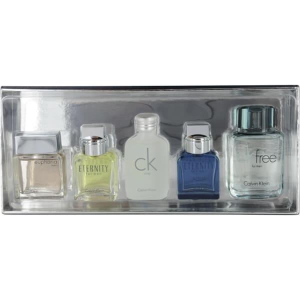 Calvin Klein Variety Men's 5-piece Fragrance Set