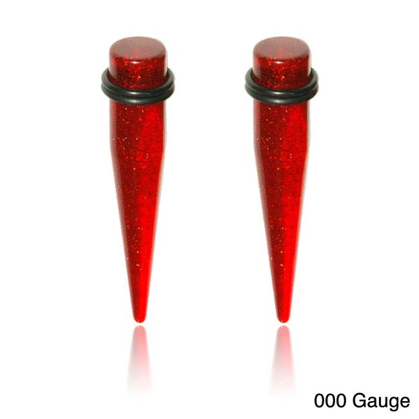 Supreme Body Jewelry Red Tapers