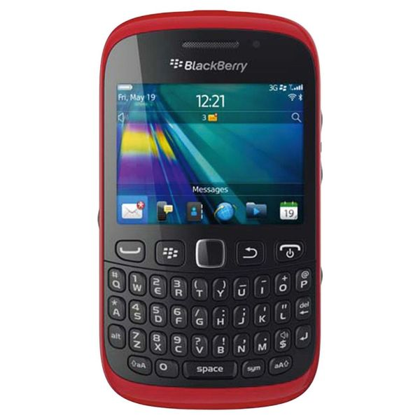 Blackberry Curve 9320 GSM Unlocked OS 7 Cell Phone - Red