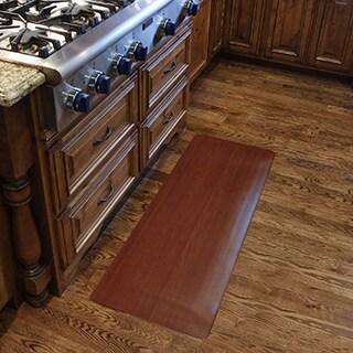 Comfort Style Wood Grain Cushion Mat (1'6 x 2'6)