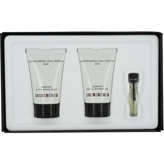 Alessandro Dell Acqua Men's 3-piece Fragrance Set