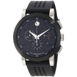 Movado Men's Stainless Steel Museum Sport Chronograph Watch