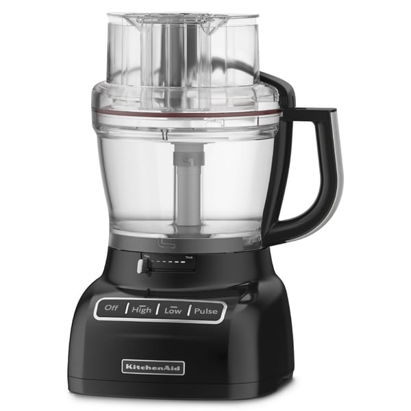 KitchenAid RKFP1333OB Onyx Black 13-Cup Food Processor (Refurbished)