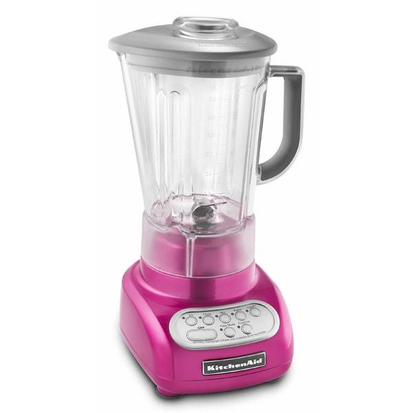 KitchenAid KSB560RI 5-Speed Blender Raspberry Ice