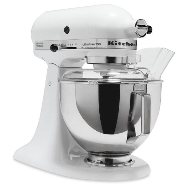 KitchenAid Mixer 4 5 Quart Ultra Power Stand Mixer White