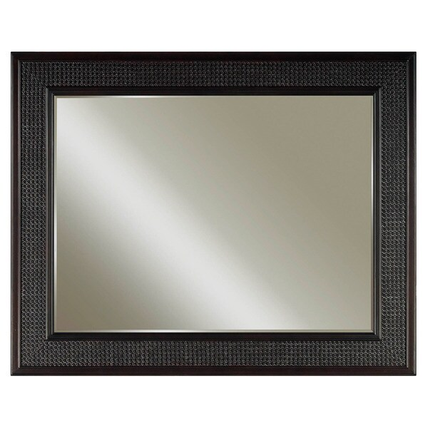 Water Creation London Collection Espresso Hardwood Bathroom Vanity Mirror