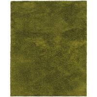 Indoor Green Shag Area Rug