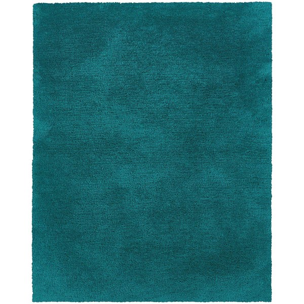 Shop Indoor Teal Shag Area Rug On Sale Free Shipping