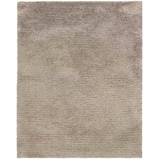 Indoor Beige Shag Area Rug