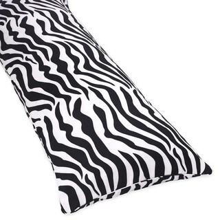 Sweet Jojo Designs Cotton Full-length Double Zipper Body Pillow Cover
