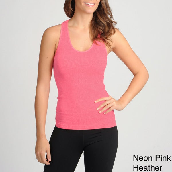 90 Degree by Reflex Women's Active Performanace Ribbed Tank Top