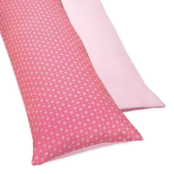 Sweet JoJo Designs Song Bird Full-length Reversable Double Zippered Reversible Body Pillow Cover