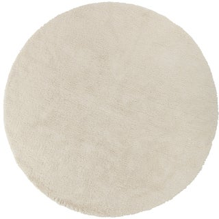 Hand-woven Portales Soft Shag (8' Round)