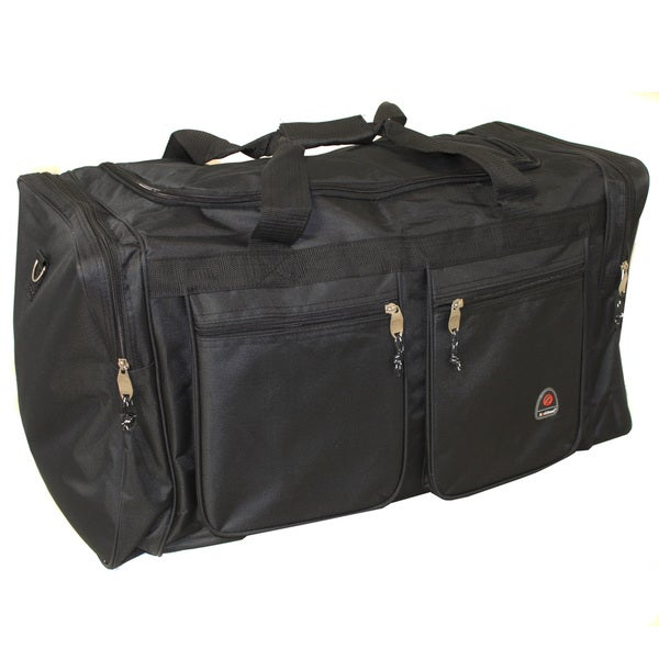 Rockland All Access 28 Inch Lightweight Cargo Upright Duffel Bag