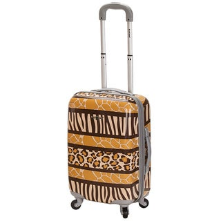 Rockland Safari 20-inch Lightweight Hardside Spinner Carry On Upright
