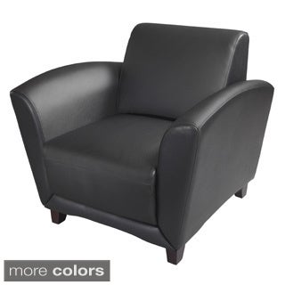Mayline Santa Cruz Series Occasional Leather Chair (2 options available)