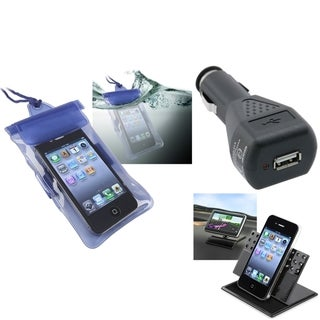 INSTEN Holder/ Charger/ Bag for Samsung Galaxy S2/ S II/ Hercules T989