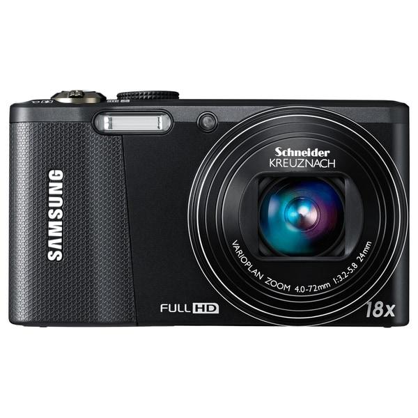 Samsung WB750 12.5 Megapixel 3D Compact Camera - Black