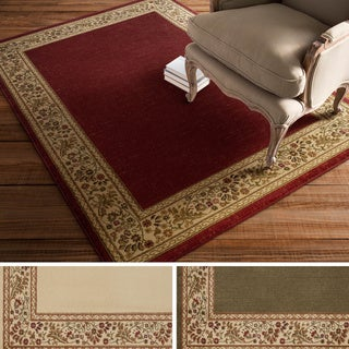 St. Thomas Classic Bordered Runner Rug (4 options available)