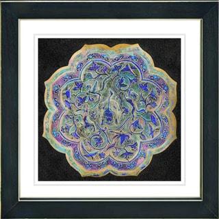 Studio Works Modern 'Platos - Blue' Framed Print