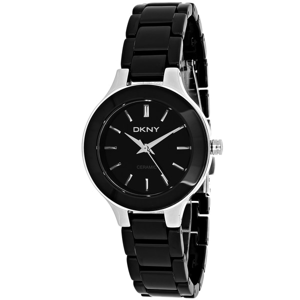 DKNY Women's Steel and Ceramic Watch
