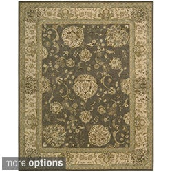 Hand-tufted Nourison 2000 Kashan Grey Rug (More options available)