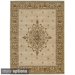 Ashton House Beige Wool Rug