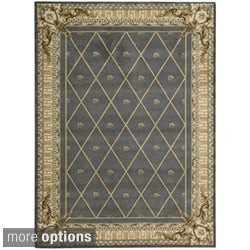 Ashton House Blue Wool Rug (More options available)