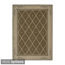 Ashton House Mist Floral Wool Rug