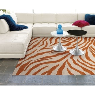 Skyland Animal Print Beige Area Rug