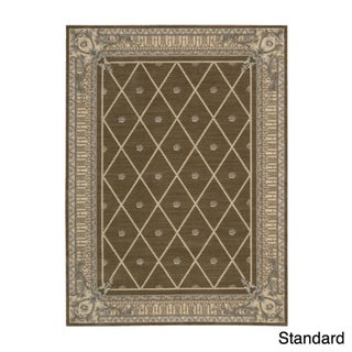 Ashton House Mink Floral Wool Rug (More options available)