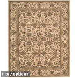 Hand-tufted Heritage Hall Ivory Wool Rug