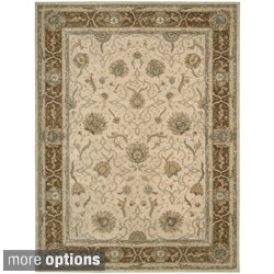 Hand-tufted Heritage Hall Mist Wool Rug