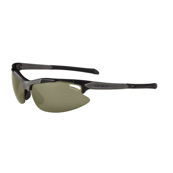 Tifosi Pave Golf Matte Black Smoke/GT/EC Sunglasses