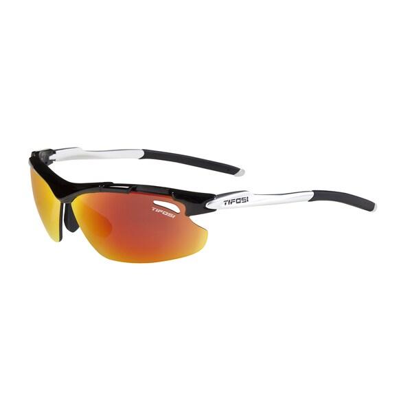 'Tifosi Tyrant Gloss Black Sunglasses