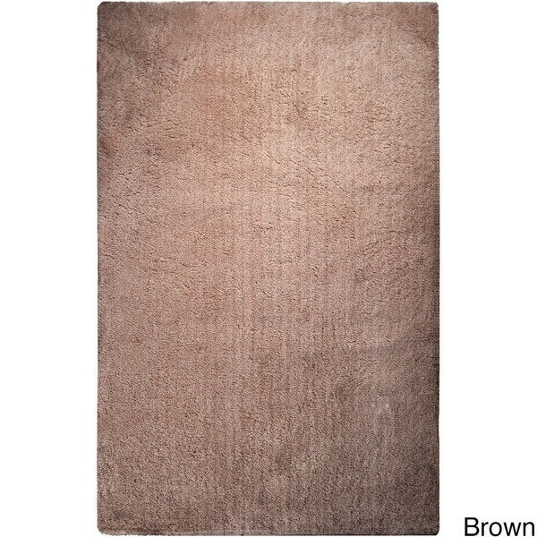 Hand-woven Portales Soft Plush Shag Area Rug