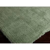 Hand-woven Lovington Soft Shag Area Rug (2' x 3')