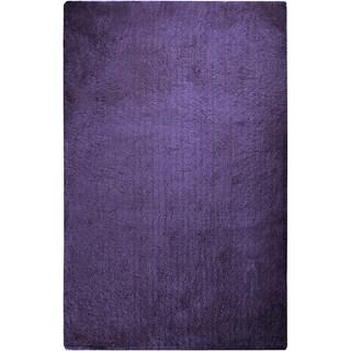 Hand-woven Socorro Soft Plush Shag Area Rug (2' x 3')