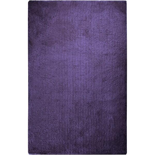 Hand-woven Socorro Soft Plush Shag Area Rug