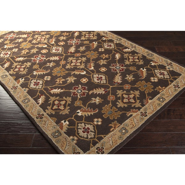 Hand-tufted Alamogordo Wool Area Rug (10' x 14'). Opens flyout.