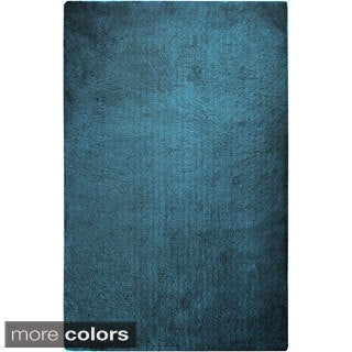 Hand-woven Lovington Soft Shag Area Rug (2'3 x 8') (More options available)