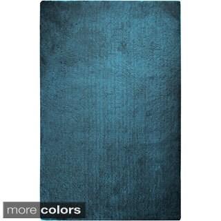 Hand-woven Lovington Soft Shag Area Rug