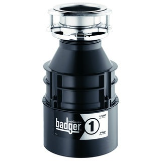 InSinkErator Badger 1 Garbage Disposal, 1/3 HP (BADGER1)