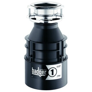 In-Sink-Erator Badger 1 1/3 Horsepower Garbage Disposer