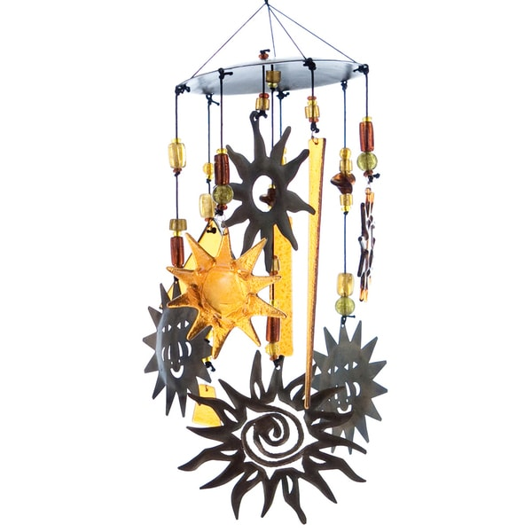 Here Comes the Sun Wind Chime  , Handmade in India