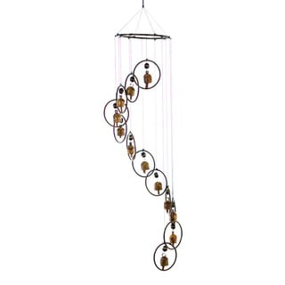 Cascade of Bells Wind Chime (India)