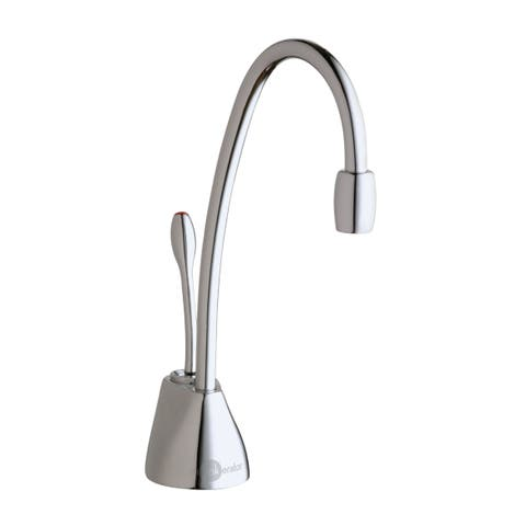 InSinkErator Indulge Contemporary Hot Only Faucet, Chrome (F-GN1100C)