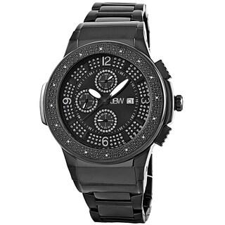 JBW Men's Stainless Steel 'Saxon' Diamond Watch
